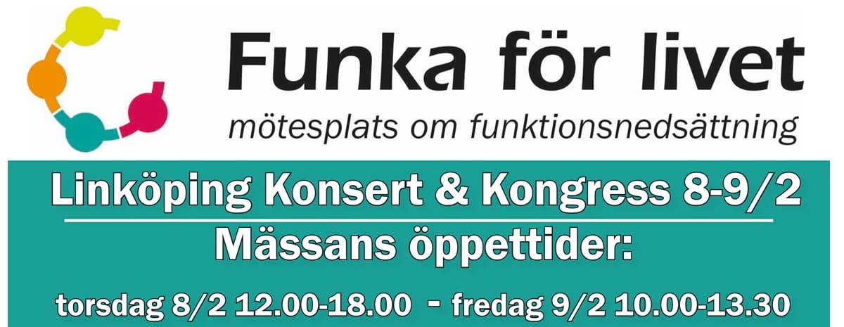 Funka för livet 8-9 februari 2018 i Linköping