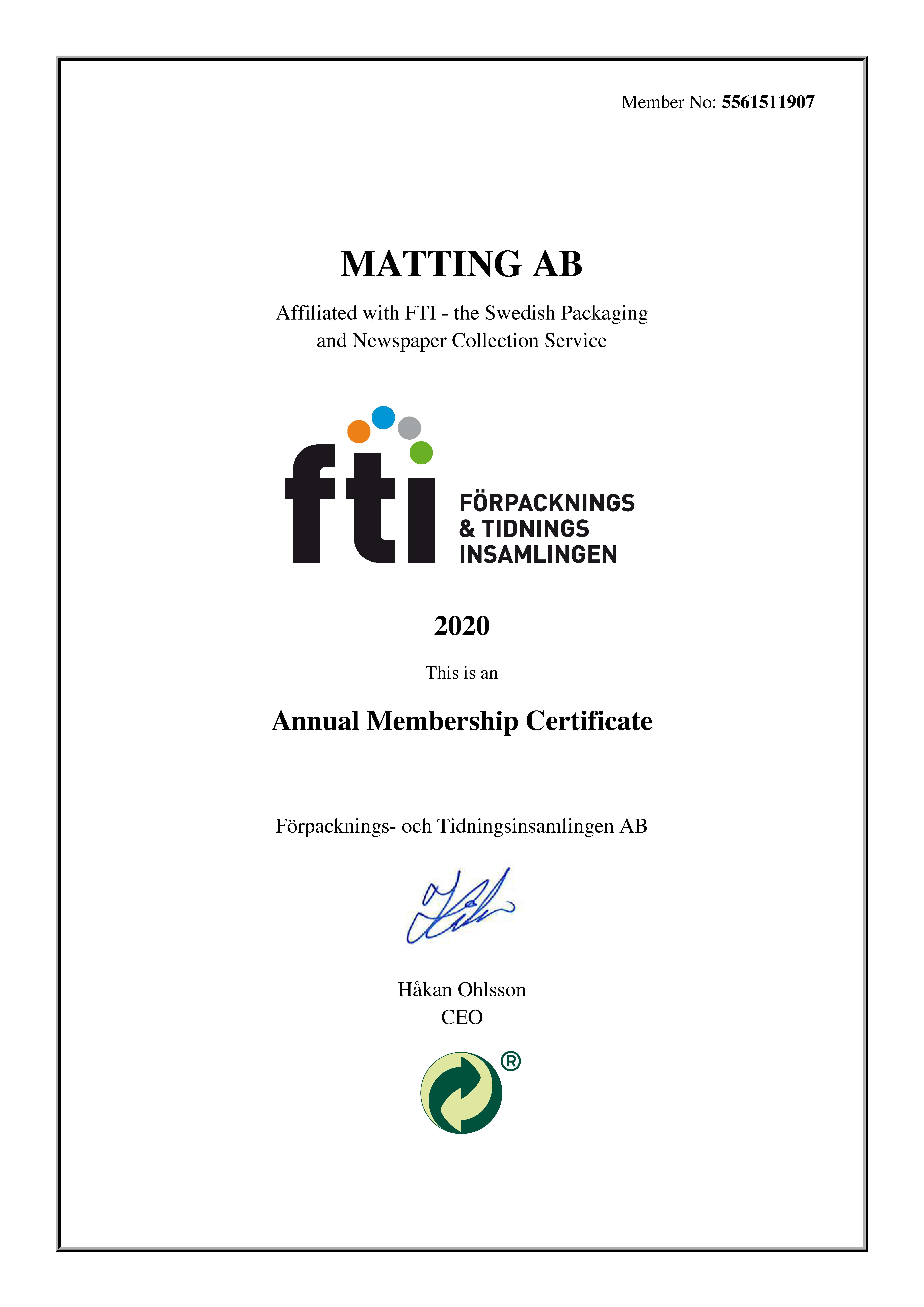 FTI Certificate Eng 2020