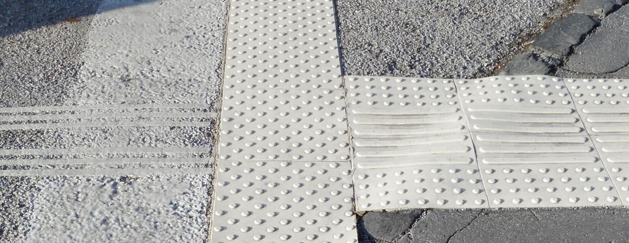 Tactile Flooring - taktila ledstråk/plattor av TPU-P